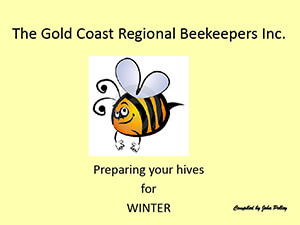 Preparing the Hives for winter