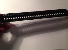 Beetle Blaster – clear plastic under a black top