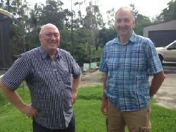 John Polley (left) and Kevin Finn